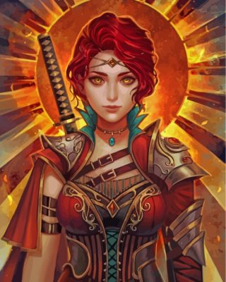 steampunk-fire-girl-paint-by-numbers