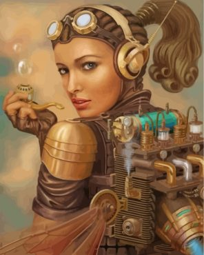 steampunk-lady-paint-by-numbers