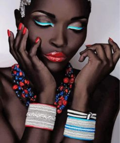 stylish-black-woman-paint-by-numbers