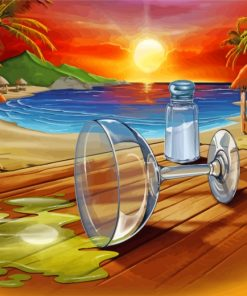 summer-sunset-paint-by-numbers