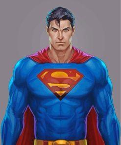 superman-superhero-paint-by-numbers