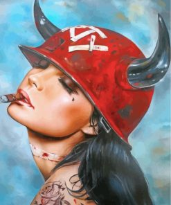 tattooed-girl-smoking-paint-by-numbers