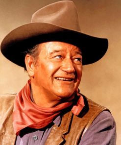 the-legend-John-Wayne-paint-by-numbers