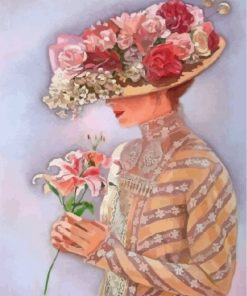 vintage-woman-paint-by-numbers