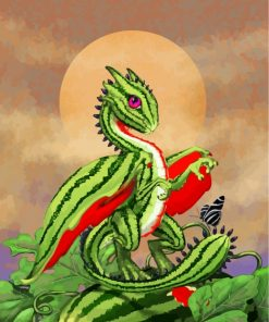 watermelon-dragon-paint-by-numbers