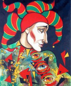 weird-clown-joker-paint-by-numbers