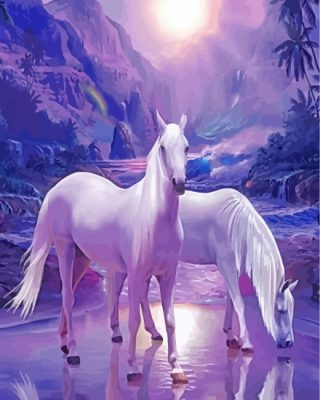 white-horses-paint-by-numbers