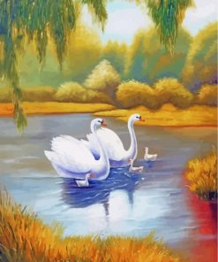 white-swans-(2)-paint-by-numbers