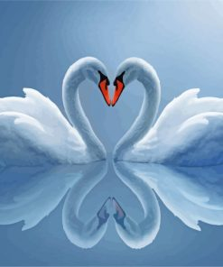 white-swans-paint-by-numbers