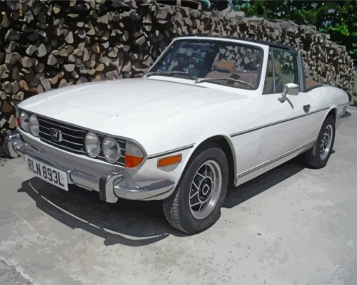 white-triumph-stag-paint-by-numbers
