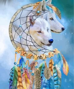 white-wolves-paint-by-numbers
