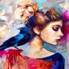 woman-and-bird-paint-by-numbers