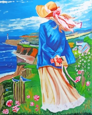 woman-contemplating-the-beach-paint-by-numbers