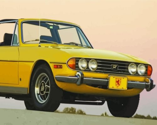 yellow-triumph-stag-paint-by-numbers