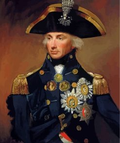 Admiral Nelson Paint by numbers