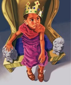 African King Boy Paint by numbers