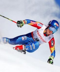 Alpine Mikeala Shiffrin Paint by numbers
