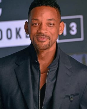 American-actor-will-smith-paint-by-numbers