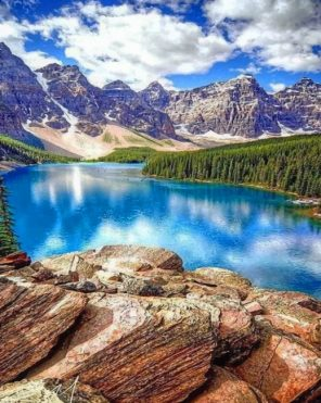 Banff-National-Park-canada-paint-by-numbers-1
