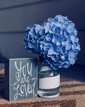 Beautiful-Hydrangea-Blue-Flower-paint-by-number