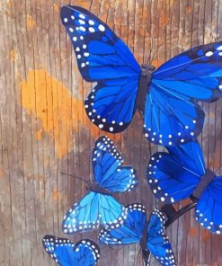 Blue-monarch-butterfly-paint-by-number