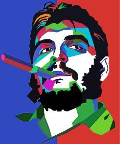 Che Guevara Pop Art Paint by numbers