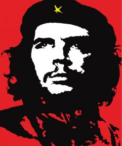 Che Guevara Poster Paint by numbers