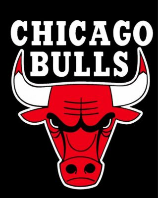 Chicago-Bulls-logo-paint-by-number