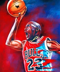 Chicago-Bulls-michael-jordan-the-goat-paint-by-numbers