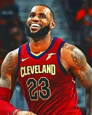 Cleveland-Cavaliers-paint-by-number