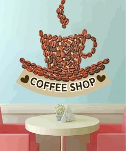 Coffee-Shop-Decor,-Coffee-Shop-Decal,-Coffee-Shop-Sticker,-Coffee-Shop-Wall-Art-paint-by-numbers