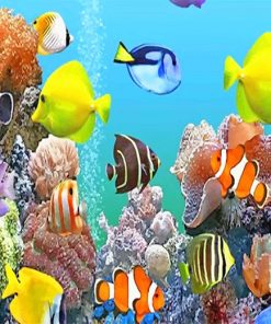 Colorful-fishes-deep-sea-adult-paint-by-numbers