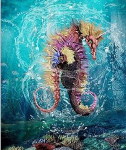 Unicorn Seahorse Paint by numbers