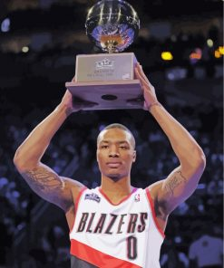 Damian-Lillard-from-blazers-paint-by-numbers