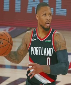 Damian-Lillard-paint-by-numbers