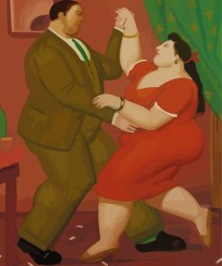 Fat Couple Paint by numbers
