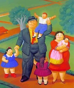 Fat Family Paint by numbers