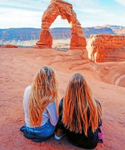 Friends-in-arches-national-park-paint-by-numbers