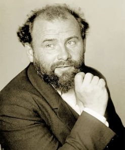 Gustav Klimt Black And White