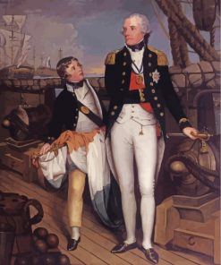 Horatio Nelson 1st Viscount Nelson Paint by numbers