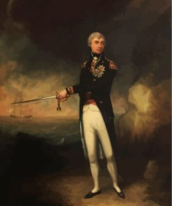 Horatio Nelson 1st Viscount Paint by numbers