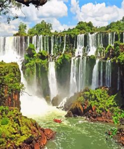 Iguazú-Falls-argentina-paint-by-numbers