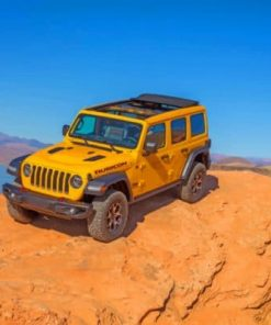 Jeep Wrangler Unlimited Rubicon Paint by numbers