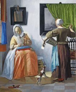 Johannes-Vermeer-paint-by-numbers