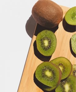 Kiwi Fruit Paint by numbers