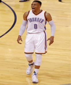 Legend Russel Westbrook Paint by numbers
