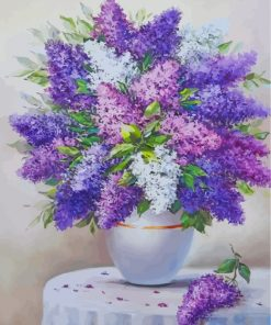 Lilac Vase Paint by numbers