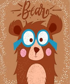 Little Bear Paint by numbers