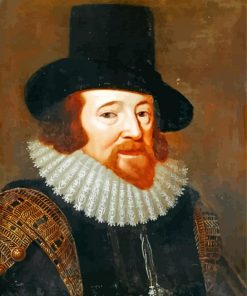 Lord Verulam Francis Bacon Paint by numbers