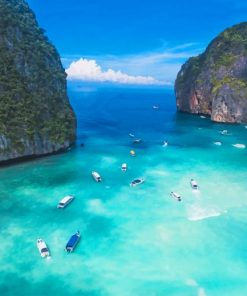 Maya-Bay-Thailand-paint-by-numbers